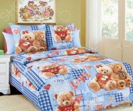 Детский комплект постельного белья Бамбино «Плюшевые мишки»