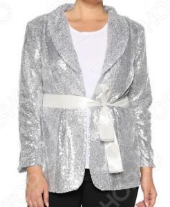 Пиджак Pretty Woman «Блеск звезды». Цвет: серебристый
