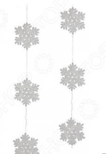 Гирлянда декоративная Christmas House «Снежинки»