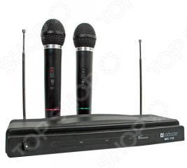 Набор беспроводных микрофонов для караоке DEFENDER MIC-155
