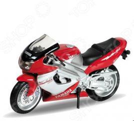 Модель мотоцикла 1:18 Welly Motorcycle/Yamaha 2001 YZF1000R Thunderace. В ассортименте