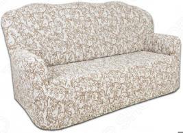 Натяжной чехол на трехместный диван Еврочехол «Виста. Антея»