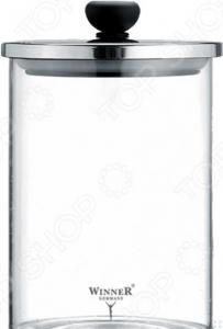 Контейнер для хранения сыпучих продуктов Winner с металлической крышкой