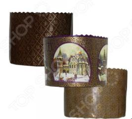 Набор бумажных форм для выпечки куличей Marmiton «Пасхальный» 11349. В ассортименте