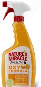 Уничтожитель пятен и запахов от кошек 8 in 1 JFC Orange Oxy Formula