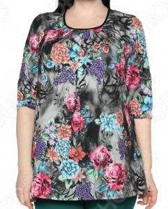 Блуза Лауме-Лайн «Сказочный сад». Цвет: серый
