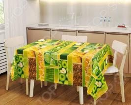 Набор: скатерть и 2 полотенца ТексДизайн «Тропический остров» 1719357