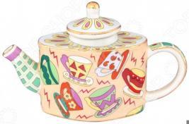 Чайник сувенирный Elan Gallery «Чашечки»