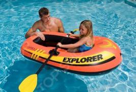Лодка надувная детская Intex Explorer 100