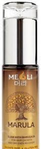 Эликсир для роста волос и восстановления сухих кончиков Meoli Hair Growth & Dry Ends Recovery with Marula Oil