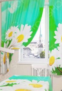 Фотошторы Сирень «Белые ромашки»