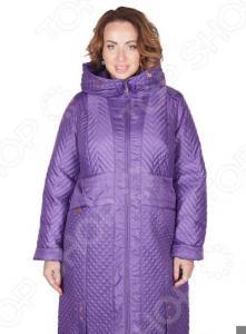 Пальто D`imma «Мирабель». Цвет: фиолетовый