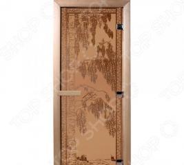 Дверь для бани Банные штучки «Березка» 34013
