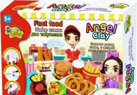 Набор для лепки Kinder Club Fastfood