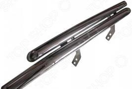Защита переднего бампера Arbori двойная для Infiniti FX35/FX50, 2008