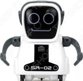Робот интерактивный Silverlit «Робот Покибот белый квадратный»