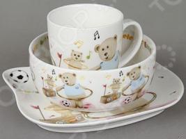 Набор посуды для детей Rosenberg 8780