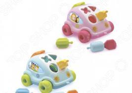 Игрушка-сортер развивающая Smoby «Автомобиль с фигурками». В ассортименте