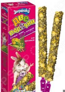 Лакомство для кроликов ЗООМИР «Зверюшки. Луговые травы и кукуруза»