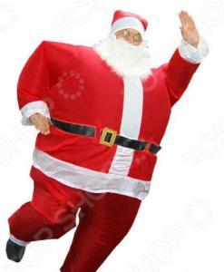 Костюм надувной Просто-Полезно «Дед Мороз»