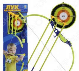 Набор оружия: лук, стрелы и мишень 1 Toy Т11621