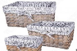 Набор плетеных корзин Miolla QL400435