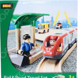 Железная дорога с переездом Brio 33209