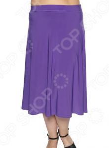 Юбка VEAS «Элегантная». Цвет: фиолетовый