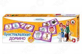 Домино детское Русский стиль «Простоквашино»
