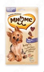 Лакомство для собак мелких пород Мнямс 700064 «Ассорти: говядина, ягненок, курица»