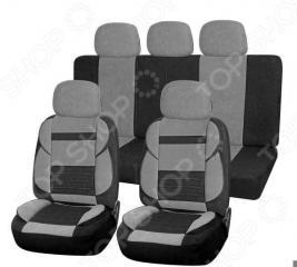 Набор чехлов для сидений SKYWAY Protect 2 «Тонкие полосы»