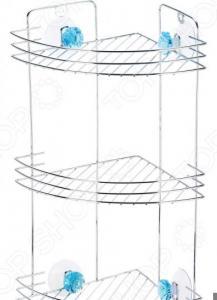 Полка для ванны угловая Рыжий кот W2672С «Бриллиант»