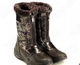 Дутики снежные Walkmaxx. Уцененный товар. Цвет: коричневый