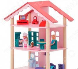 Кукольный дом с аксессуарами PAREMO «Роза Хутор»