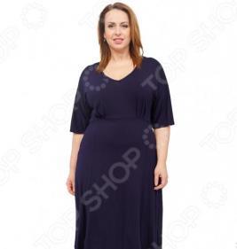 Платье Laura Amatti «Нежная радость». Цвет: синий