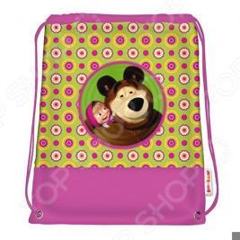 Мешок для обуви Маша и Медведь «Маленькая Модница»