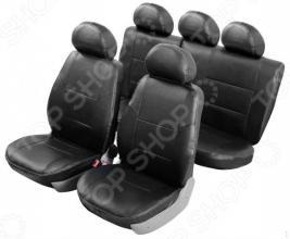Набор чехлов для сидений Senator Atlant Hyundai Solaris 2010-2017 седан, слитный задний ряд