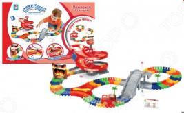 Трек гоночный 1 Toy «Пожарная станция»