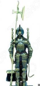 Набор для камина латунный на подставке VORTEX «Рыцарь»