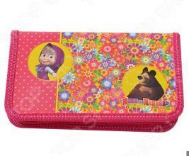 Пенал Маша и Медведь «Цветочная поляна» 22111