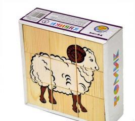 Кубики Томик 4444-3
