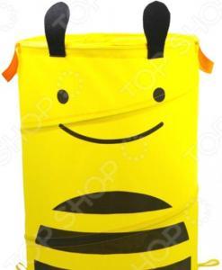Корзина для хранения игрушек складная Bradex «Пчелка»