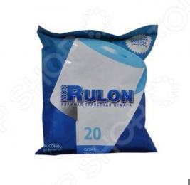 Туалетная бумага влажная гипоаллергенная антибактериальная Авангард MR-48123 Mon Rulon