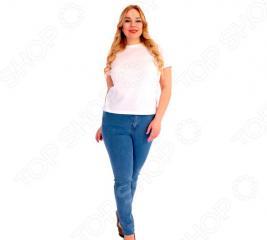Джинсы женские Laura Amatti «Каролина». Цвет: светло-синий