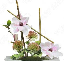 Декоративные цветы Dream Garden «Магнолия» на подставке