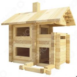 Конструктор деревянный Лесовичок «Разборный домик №2»