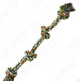 Игрушка для собак DEZZIE «Канат с узлами»