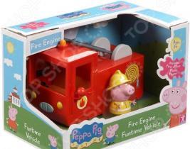 Игровой набор с фигуркой Peppa Pig «Пожарная машина Пеппы»