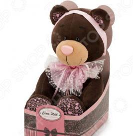 Интерактивная игрушка Orange Choco&Milk «Медведь. Розовый бант»