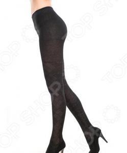 Колготки ажурные Burlesco R52175. Цвет: черный